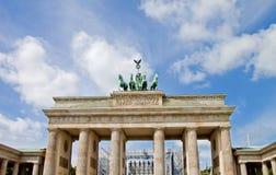 Cancello di Brandeburgo, Berlino Immagine Stock