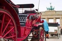Cancello di Brandeburgo, Berlino Fotografia Stock Libera da Diritti