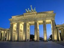 Cancello di Brandeburgo a Berlino Fotografia Stock Libera da Diritti