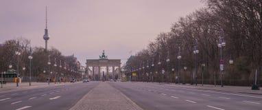 Cancello di Brandeburgo, Berlino Immagini Stock