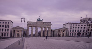 Cancello di Brandeburgo, Berlino Fotografia Stock