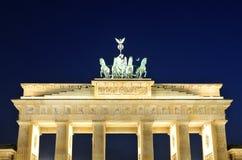 Cancello di Brandeburgo a Berlino, Germania Fotografia Stock Libera da Diritti