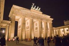 Cancello di Brandeburgo a Berlino, Germania Fotografie Stock Libere da Diritti