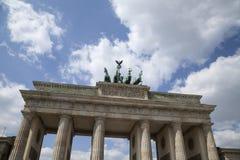 Cancello di Brandenburger a Berlino Immagine Stock