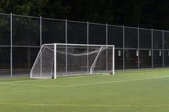 Cancello di calcio Fotografia Stock Libera da Diritti