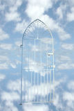 Cancello di cieli Fotografia Stock