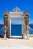 Cancello di Dolmabahce Fotografia Stock Libera da Diritti