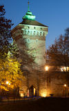Cancello di Florianska a Cracovia Fotografie Stock