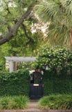 Cancello di giardino Fotografia Stock Libera da Diritti