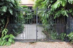Cancello di giardino Immagini Stock Libere da Diritti