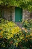 Cancello di giardino murato Fotografia Stock Libera da Diritti