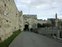 Cancello di Jaffo Immagini Stock