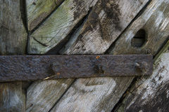 Cancello di legno immagini stock libere da diritti