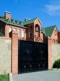 Cancello di piccola casa Fotografia Stock