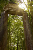 Cancello di pietra Fotografia Stock