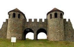 Cancello di Praetoria in Romania Fotografia Stock