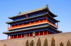 Cancello di Qianmen, città severa, Pechino, Cina Fotografia Stock