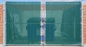 Cancello di scomparto dei rifiuti Fotografia Stock Libera da Diritti