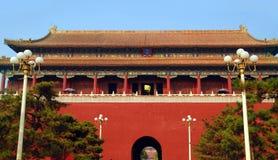Cancello di Tienanmen fotografia stock libera da diritti