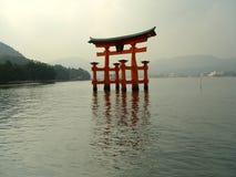 Cancello di Torii Immagine Stock