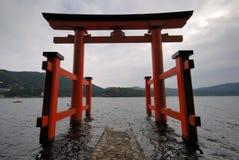 Cancello di Torii nel Giappone Immagine Stock Libera da Diritti