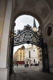 Cancello di Vienna Fotografia Stock