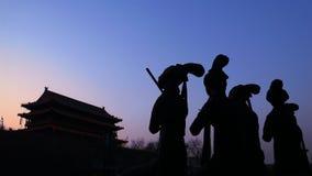 Cancello di Xi'an, Cina Fotografie Stock Libere da Diritti