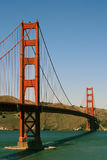 Cancello dorato Fotografia Stock Libera da Diritti