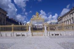 Cancello dorato Fotografie Stock Libere da Diritti