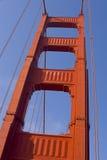 Cancello dorato di SF Fotografia Stock Libera da Diritti