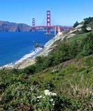 Cancello dorato, San Francisco Immagini Stock