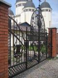 Cancello forgiato Fotografia Stock Libera da Diritti