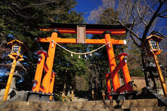 Cancello giapponese Fotografia Stock