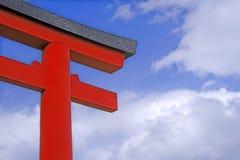 Cancello giapponese del tempiale Immagine Stock Libera da Diritti