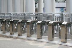 Cancello girevole Immagini Stock