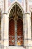 Cancello gotico fotografie stock libere da diritti
