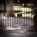 Cancello gotico Immagini Stock