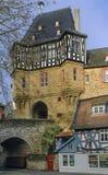 Cancello in Idstein, Germania del castello Immagine Stock Libera da Diritti