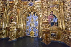 Cancello imperiale dell'altare principale del cathe di Sofia Fotografie Stock Libere da Diritti