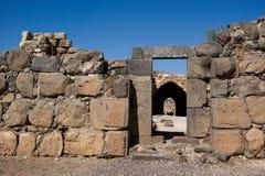 Cancello interno orientale della fortezza di Belvoir Fotografie Stock Libere da Diritti