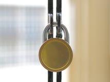 Cancello Locked immagine stock
