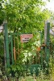 Cancello Locked immagini stock libere da diritti