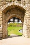Cancello medioevale Fotografia Stock Libera da Diritti
