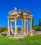 Cancello nei Aphrodisias Fotografia Stock Libera da Diritti