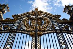 Cancello reale Fotografie Stock Libere da Diritti