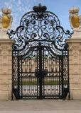 Cancello reale operato della proprietà Fotografia Stock Libera da Diritti