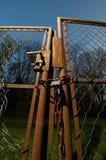 Cancello rotto Fotografia Stock Libera da Diritti