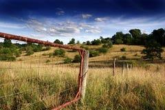 Cancello rustico Fotografia Stock Libera da Diritti