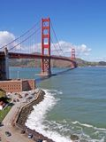Cancello-SF dorato Immagini Stock Libere da Diritti