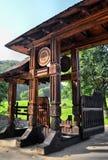 Cancello tradizionale Fotografie Stock